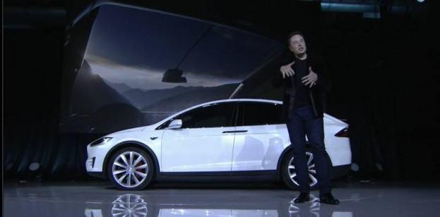 Tesla Model X unveil