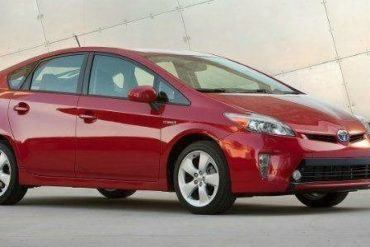 2012 Toyota Prius 012 Cover Photo