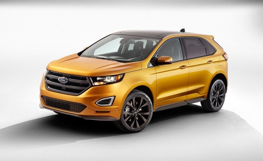 first look 2016 ford edge. Black Bedroom Furniture Sets. Home Design Ideas