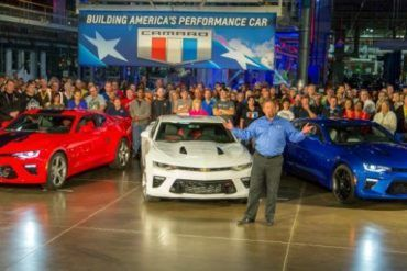 2016 Camaro Production 4