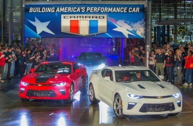 2016 Camaro Production