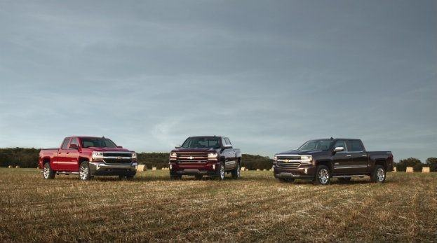 2016-Chevrolet-Silverado-1500 LT, LT Z71 and High Country