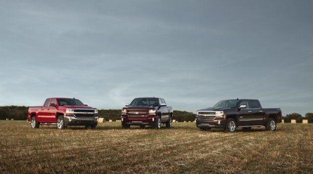 2016-Chevrolet-Silverado-1500 LT, LT Z71 and High Country