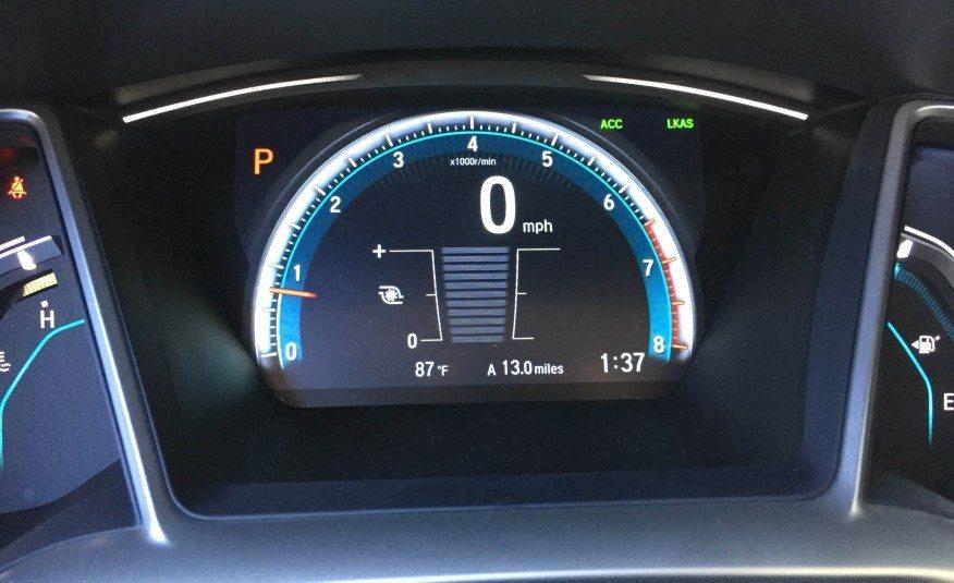 2016 honda civic speedometer and tachometer photo on automoblog net