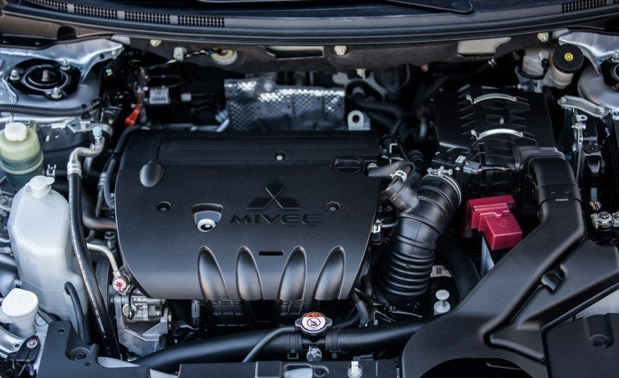 Mitsubishi 2.4 L 4-cylinder engine photo on Automoblog.net
