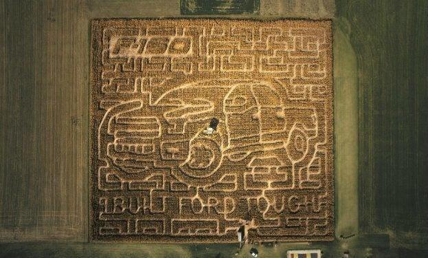F150 Corn Maze