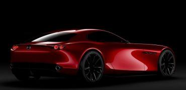 Mazda RX-Vision Concept Right Rear Three Quarters