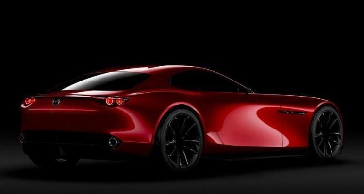 Mazda RX-Vision Concept Right Rear Three Quarters
