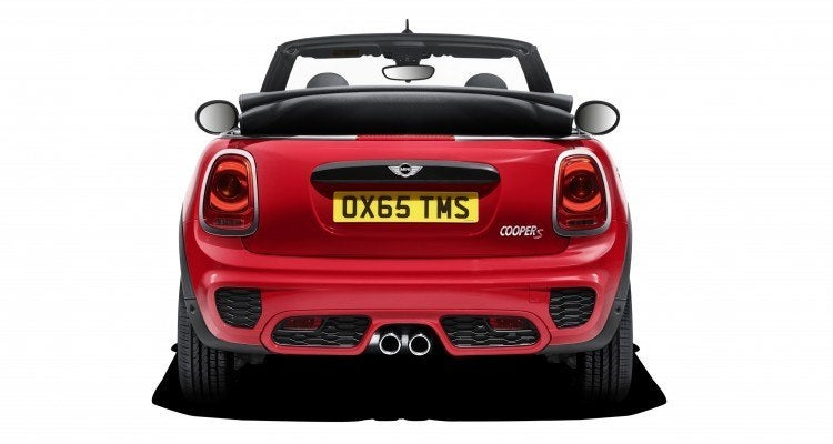 2016 Mini Cooper JCW Rear Fascia