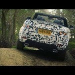 Range Rover Evoque Convertible testing at Eastnor 2