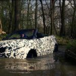 Range Rover Evoque Convertible testing at Eastnor 5