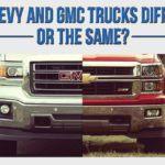 chevy vs gmc