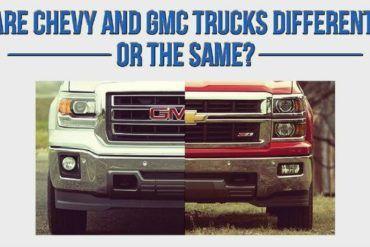 Chevy Silverado vs. GMC Sierra: Same or Different? 25