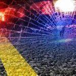 Stylized image of a crash