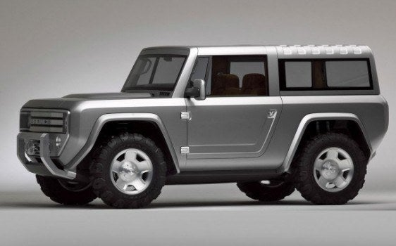 2004 OEM Bronco Concept