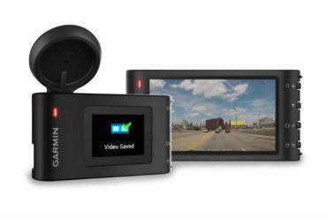 Static product image for a Garmin Dash Cam 35