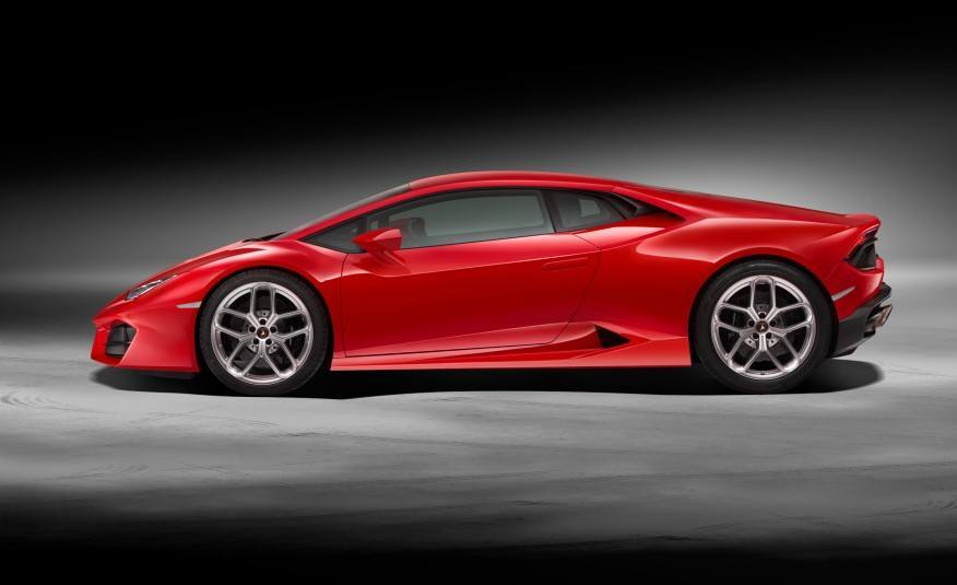 2016 lamborghini huracan lp580 2 left side profile photo on. Black Bedroom Furniture Sets. Home Design Ideas