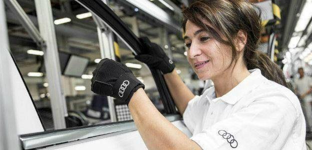 Audi Develops Special Assembly Line Gloves