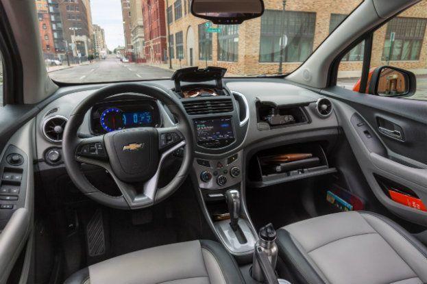 2016 Chevy Trax LTZ Front Interior