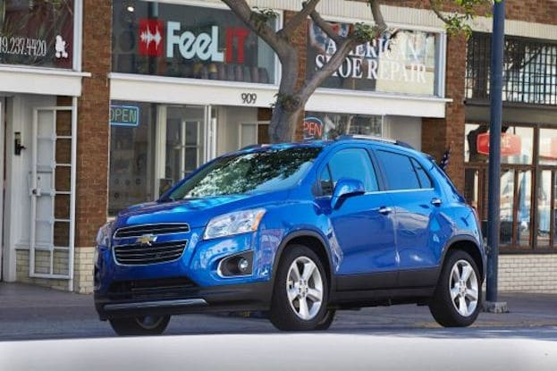 2016 Chevy Trax front