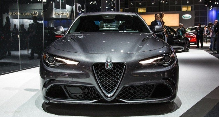 2017 Alfa Romeo Giulia Quadrifoglio Front Fascia