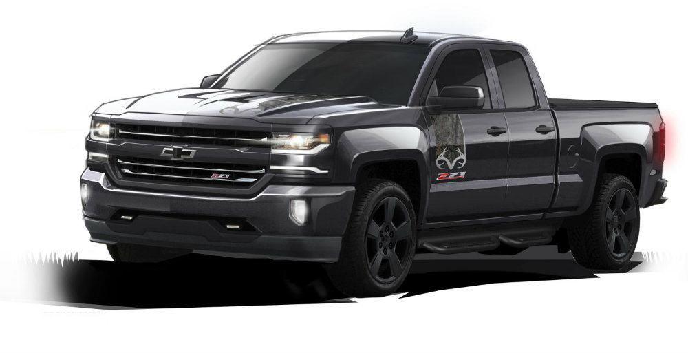 2016 Chevrolet Silverado Realtree Edition 043