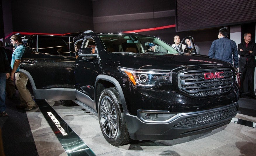 Brilliant First Look 2017 GMC Acadia  Carhoots