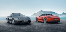 First Look: 2017 Porsche 718 Boxter/Boxter S