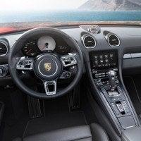 2017 Porsche 718 Boxter S Dashboard