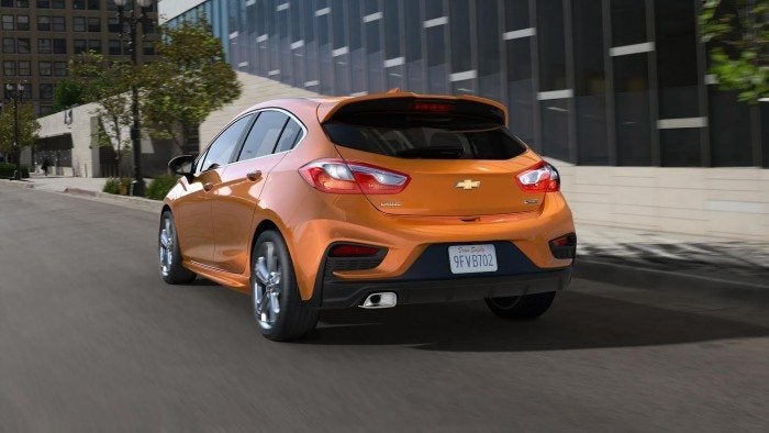 2017 Chevrolet Cruze Hatchback Rear Fascia