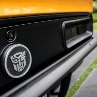 Bumblebee Rear End with Autobots Logo