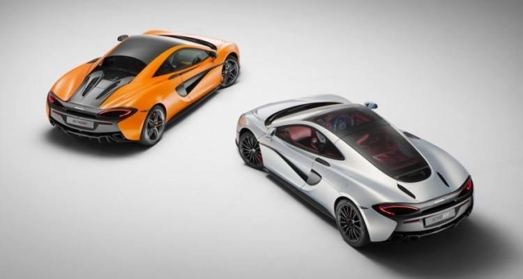 2017 McLaren 570 S and 570 GT