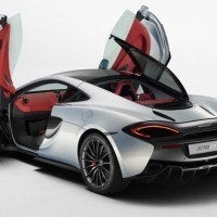 2017 McLaren 570 GT Door and Hatch Open