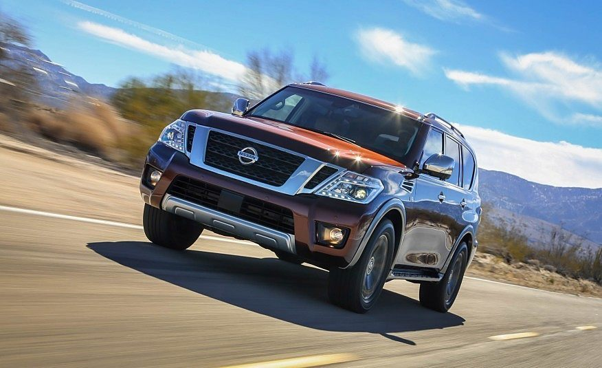 First Look: 2017 Nissan Armada
