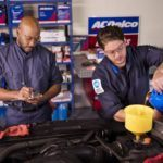 ACDelco changing oil