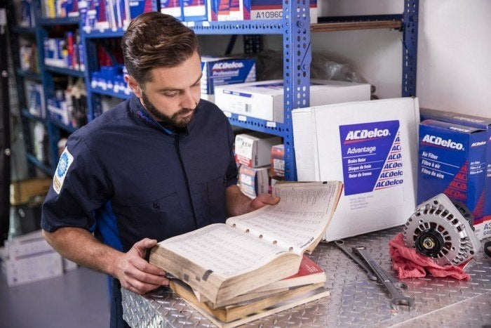 ACDelco reading manual