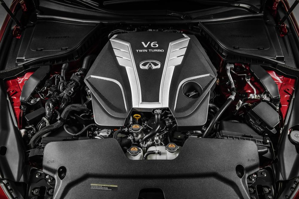 Stunning Cinema Graphs of the Infiniti V-6 VR Engine