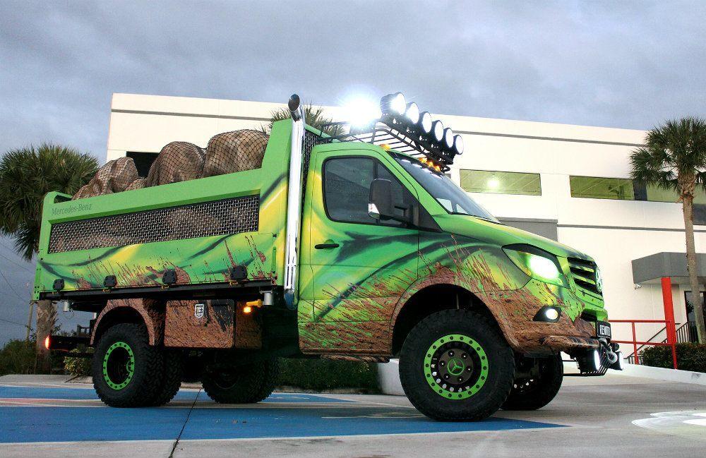 Sprinter Extreme Concept: Go Big Or Go Home!
