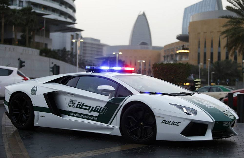 You Can Hide But You Can't Run: World's Most Exotic Police Cars