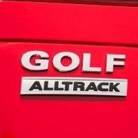 2017 Volkswagen Golf Alltrack Tailgate Badge
