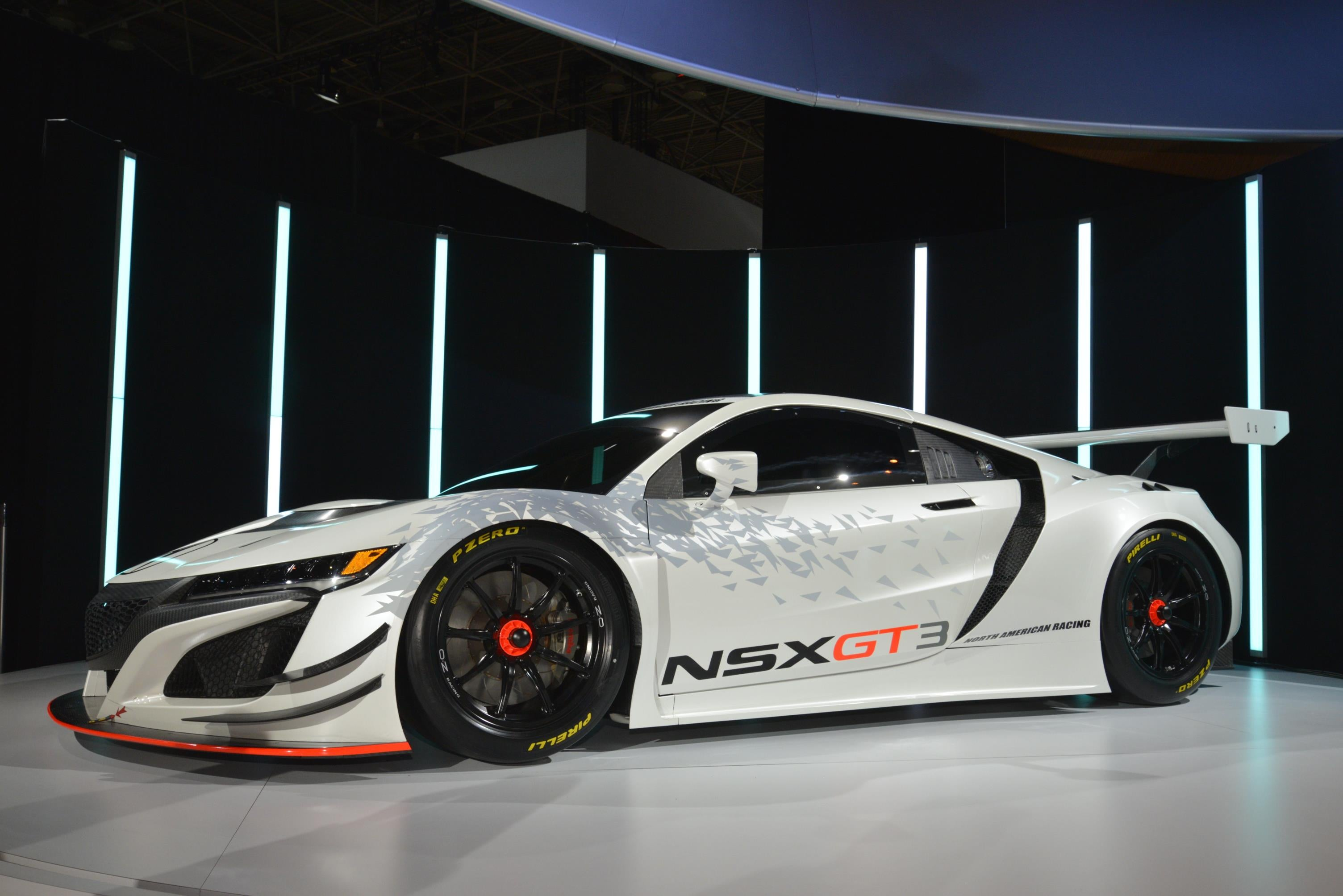 Acura Nsx Gt3 Race Car 3 Photo On Automoblog Net