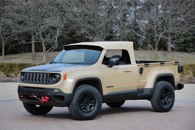 Jeep® Comanche Concept 1