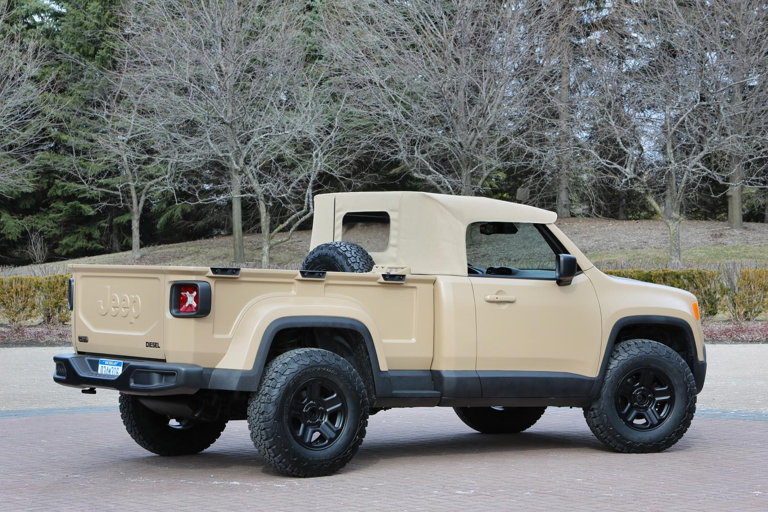 Jeep 174 Comanche Concept 2 Photo On Automoblog Net
