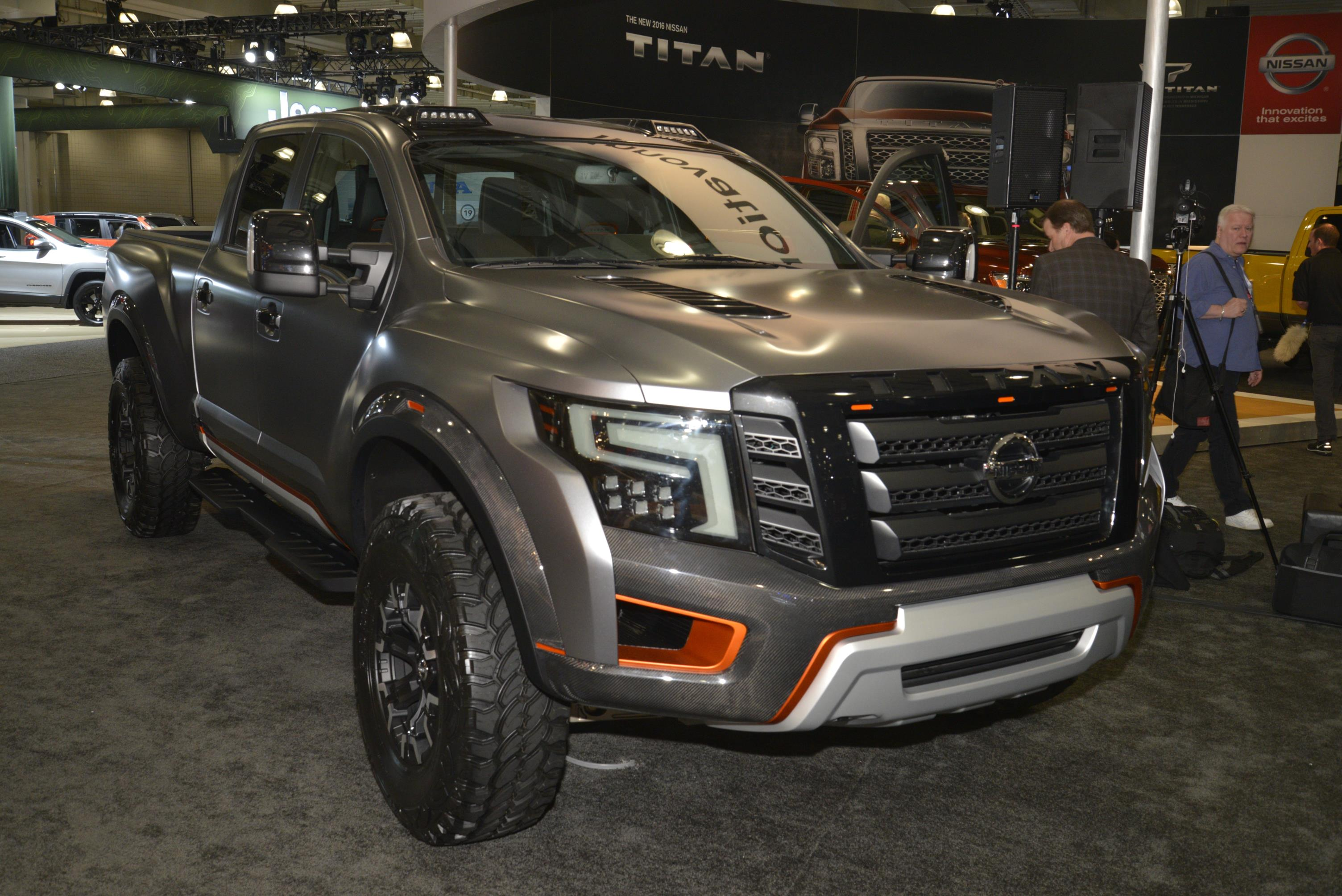 Nissan Titan Warrior Concept Photo On Automoblog Net