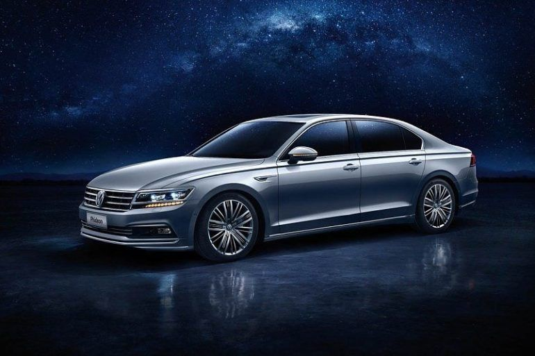 The China Only (For Now) Volkswagen Phideon Debuts In Geneva 16