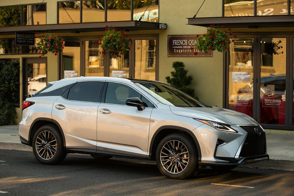 2016 lexus rx 350 f sport review. Black Bedroom Furniture Sets. Home Design Ideas