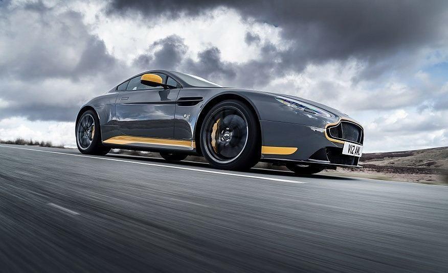 First Look: 2017 Aston Martin V12 Vantage S