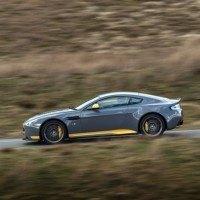 2017 Aston Martin V12 Vantage S Left Side Profile