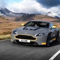 2017 Aston Martin V12 Vantage S Left Front Three Quarters