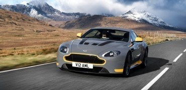 2017 Aston Martin V12 Vantage S Left Front Three Quarters